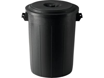 Kerbl Futtertonne mit Deckel, Kunststoff, 70 l, 3210251