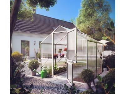 KGT Gewächshaus Rose Typ II blank 2,17 x 2,33 x 2,15 m