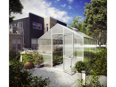 KGT Gewächshaus Lilie Typ IV blank 4,29 x 2,97 x 2,68 m