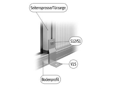 KGT Befestigungswinkel-Set für Gewächshäuser