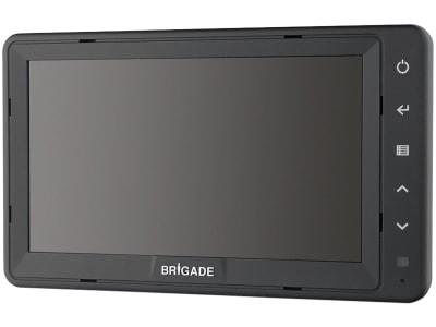 """Brigade® Monitor """"VBV-770HM"""" 7,0 """", farbig (RGB) 1.024 x 600 Pixel, 5611"""
