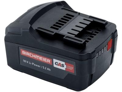 Birchmeier® Ersatzakku 18 V/5,2 Ah Li-Power, für Akku-Rückenspritze REA, REB, REC, Akku-Trolleyspritze A 50 AC1, Akku-Pump-Station BM 1035 AC1, 12072501