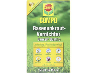COMPO Rasenunkrautvernichter Banvel® Quattro