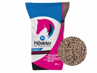 Höveler BT-Hefe press pelletierte Bierhefe an Biertreber gebunden 25 kg Sack