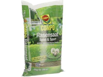 COMPO Rasensamen Spiel & Sport Aktion 4 kg Beutel / für 200m²