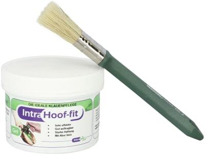 Intra Hoof-fit Gel mit Pinsel Klauenpflege 330 ml Dose