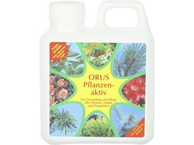 Orus Pflanzenaktiv Pflanzenhilfsmittel mit NPK 1,2+0,5+0,8 zur Gesundung und Pflege der Blumen, Nadel- und Ziergehölze