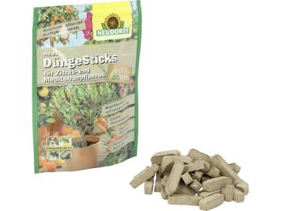 NEUDORFF Azet DüngeSticks für Zitrus- und Mediterranpflanzen organischer NPK 8+2+5 Langzeitdünger-Stäbchen für Zitruspflanzen 40 St. Beutel