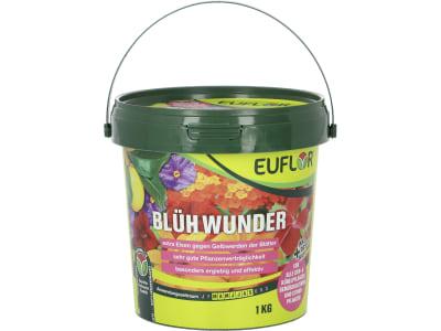 EUFLOR® BlühWunder NPK 15+10+15 Spezial- Flüssigdünger mit Eisen und Spurennährstoffen 1 kg Eimer
