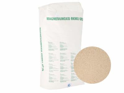Magnesiumoxid RKM83 grob  25 kg Sack