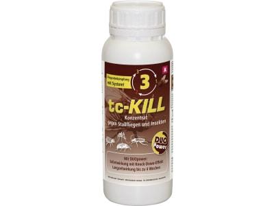 """Kerbl Insektenschutzmittel """"tc-KILL"""" 500 ml Konzentrat für die Bekämpfung von Stallfliegen, Bremsen, Mücken und kriechendes Ungeziefer, 299751"""