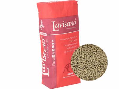 Lavisano® RedEnergy Komplettfutter für Sportpferde mit wertvollen Rohfaserkomponenten zur Unterstützung der Darmfunktion 25 kg Sack