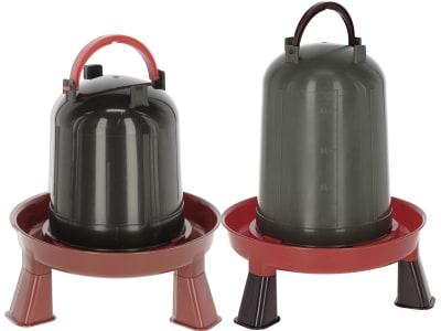Kerbl Geflügeltränke mit Standfüßen und Tragegriff 100 % recycelter Kunststoff
