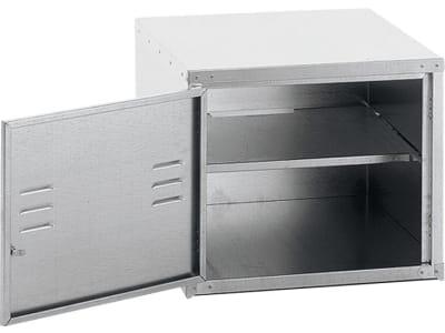 Growi® Sattelschrankaufsatz 50 x 60 x 60 cm, Stahlblech verzinkt, 5003