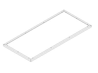 KGT Schneckenkante für Aluminium-Hochbeet