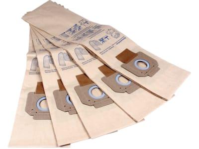 Nilfisk Filtersack 5 St., für Industriesauger Turbo D, M2, M2 L, 14912