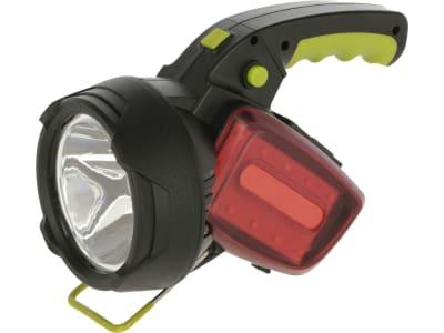Kerbl Akku-LED-Handscheinwerfer 350 lm, Li-Ion-Akku 5 V/2,4 Ah, 345622
