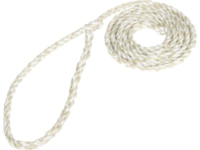 Kerbl Viehtransportstrick 320 cm, Ø 12 mm, natur, mit kleiner Schlaufe, 3-schäftig, 295353/5
