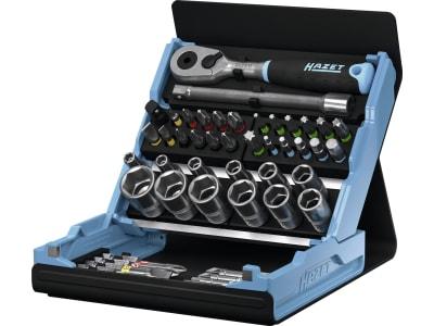 """Hazet® Steckschlüsselsatz """"SmartCase 2200SC"""" 1/4 """" 50-teilig mit Kunststoff-Klappbox, 2200SC-2"""