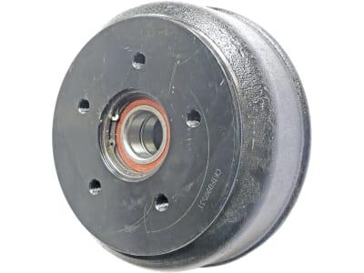 Bremstrommel 200 x 50 mm, Anschluss 5 x 112, Schrägkugellager, für Radbremse Knott 20-2425/1