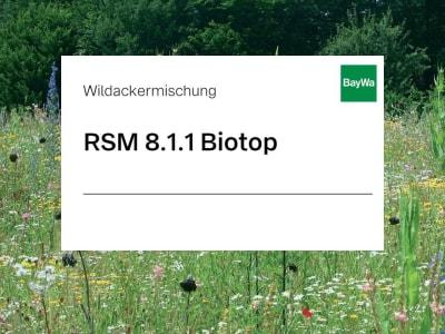 Zeller RSM 8.1.1 Biotopflächen (Erosion) mehrjährige artenreiche Blühmischung in Standorte ohne extreme Ausprägung 10 kg Sack