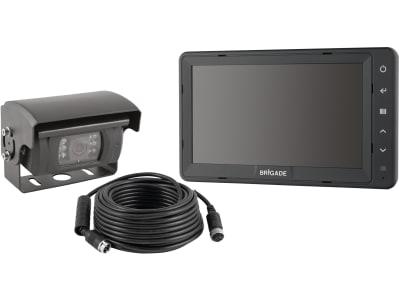 """Brigade® Rückfahrsystem mit Kamera VBV-710C, 7""""-Monitor VBV-770M-S"""
