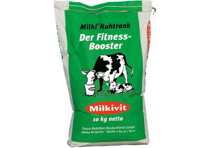 Milkivit Milki Kuhtrank für Rinder das Schutzschild nach der Geburt Pulver 10 kg Sack