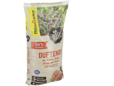Floragard® Bio-Erde Duftend für Balkon, Kübel, Zitrus und Rosen 40 l Sack