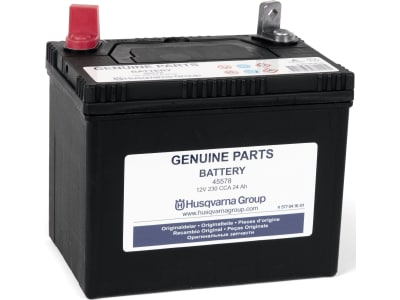 Husqvarna® Starterbatterie 12 V/24 Ah Blei/Säure, für Rasentraktor Rider Husqvarna, Jonsered, McCulloch M125-94H, Partner, 5770416-01