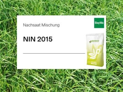 Planterra Nachsaat NIN 2015 für intensive Lagen mit Klee und deutschen Weidelgräsern