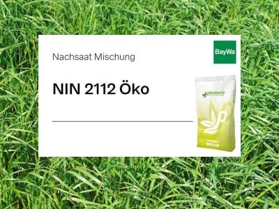 Planterra Nachsaat NIN 2112 Bio leistungsstarke Weidelgrasmischung ohne Klee für intensive Nutzung und bester Silagequalität/ Grundfutterqualität