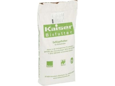 Kaiser Bio-L Allein Zweinutzungshuhn Hühnerfutter Mehl 25 kg Sack