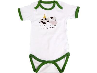 BayWa Baby Body kurzarm Gr. 74/80