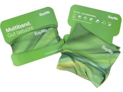 BayWa Multifunktionstuch aus rPET (recyceltes Polyethylen) für Sportler, Wanderer und Freiluft-Fans aller Art 1 St.