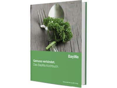 BayWa Kochbuch mit 59 Rezepten auf 115 Seiten