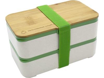 BayWa Brotzeitbox 19 x 13 x 11 cm, für eine komplette Mahlzeit, spülmaschinengeeignet