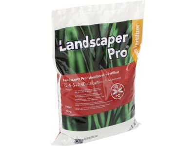 Landscaper Pro® Weed Control NPK 22+5+5 Rasendünger mit Unkrautvernichter, ideal für einen unkrautfreien Rasen 10 kg Sack ausreichend für ca. 750 m²