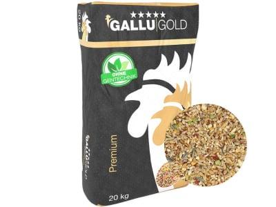 GALLUIGOLD Landkorn Premium Landkorn Premium bunte Körnermischung, Hühnerfutter Körner 20 kg Sack