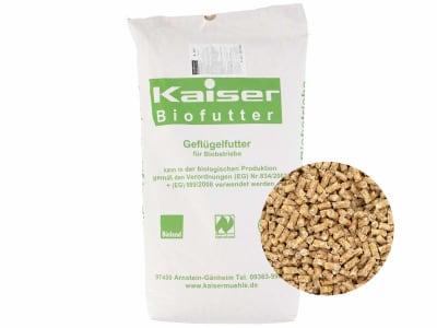 Kaiser Bio-KSK Kükenstarterkorn Hühnerfutter Pellet 25 kg Sack