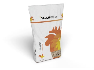 GALLUGOLD Legekorn für Geflügel Pellet 25 kg Sack