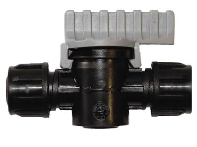 NETAFIM™ Kugelhahn TAVLIT Twist Lock PVC dünnwandig Durchmesser 16 mm