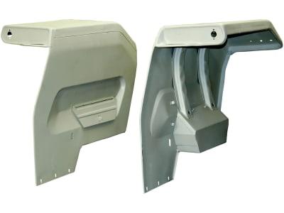 Kotflügel links/rechts Breite Kotflügel oben 380 mm für Massey Ferguson 135, 165