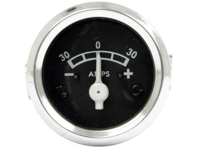 Amperemeter unbeleuchtet, 0 bis 30 A, für Case IH, Landini, Massey Ferguson