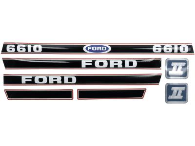 "Aufklebersatz ""Ford 6610 Force II"" für Ford New Holland, Vergl. Nr. Ford New Holland: 83952741, EFPN16605EA"