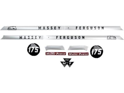 """Aufklebersatz """"MF 175"""" für Massey Ferguson,"""