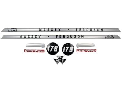 """Aufklebersatz """"MF 178"""" für Massey Ferguson,"""