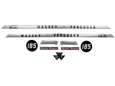 """Aufklebersatz """"MF 185"""" für Massey Ferguson,"""