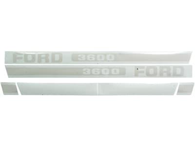 """Aufklebersatz """"Ford 3600"""" für Ford New Holland, Vergl. Nr. Ford New Holland: 83928526, EBPN16605B"""
