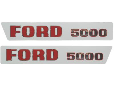 "Aufklebersatz ""Ford 5000"" für Ford New Holland, Vergl. Nr. Ford New Holland: 81814374"