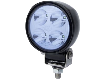 "Hella® LED-Arbeitsscheinwerfer ""70 LED""  rund, 83 mm, 12 – 24 V, 13 W, 800 lm, 4 LEDs, 1G0 996 276-701"
